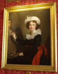 Self-portrait of Elisabeth Vigee-Le Brun