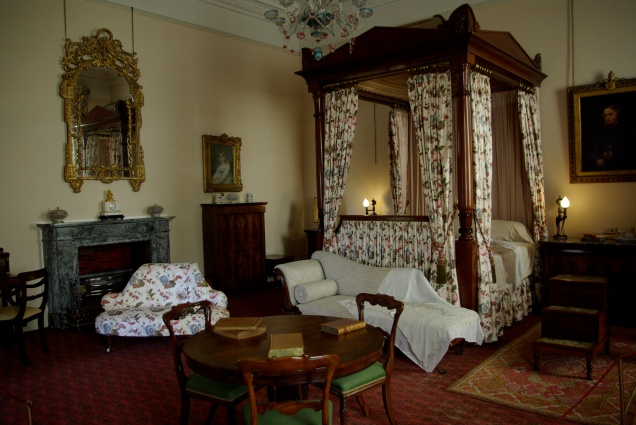 One of the bedrooms