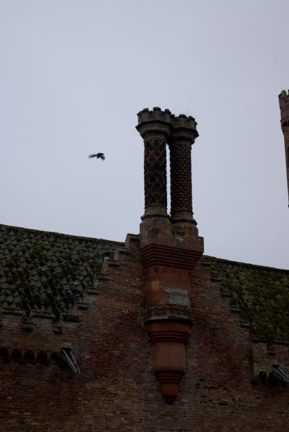 Ornate Tudor Chimneys