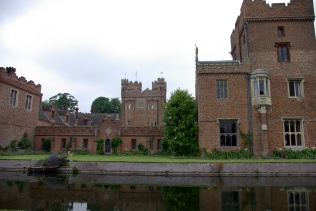 Moat and rear of Hall