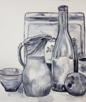 Still life:Monochromatic -2012