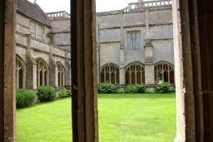 Hogwarts Courtyard?