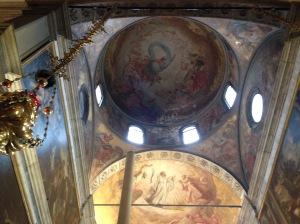 Ceiling church