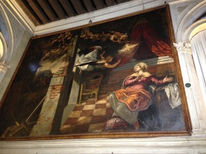 One of the paintings downstairs