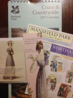 Notecards, postcards, and calendar