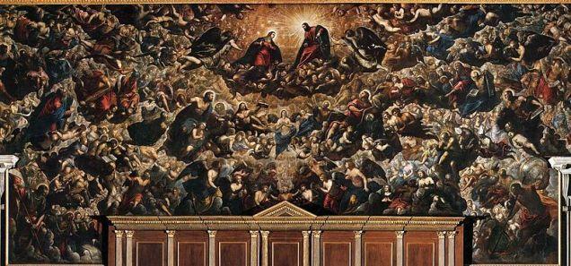 """Tintoretto """"Paradise"""""""